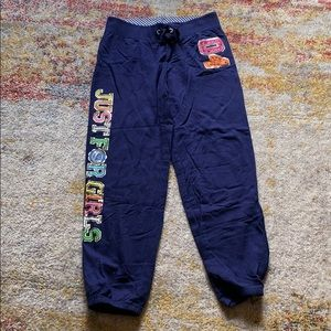 Blue Justice Sweatpants